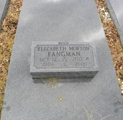 Elizabeth <i>Morton</i> Fangman
