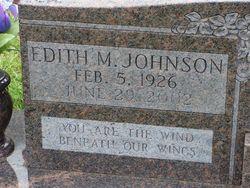 Edith Mae <i>Thomas</i> Johnson
