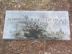 Johnnie Ray Sr. Cochran