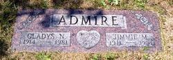 Gladys Nell <i>Ervin</i> Admire