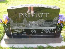Donald E. Dutch Privett