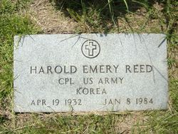 Corp Harold Emery Reed