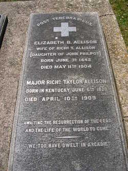 Maj Richard Taylor Allison