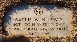 Baylis Washington Harrison Lewis