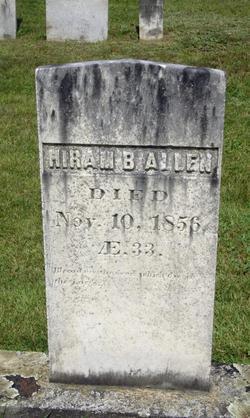 Hiram B Allen