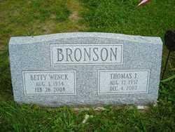 Betty <i>Wenck</i> Bronson