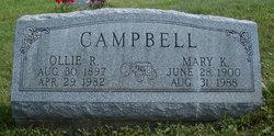 Mary Kathryn <i>McIntosh</i> Campbell