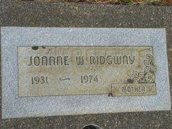 Joanne West <i>Swearingen</i> Towne Ridgway