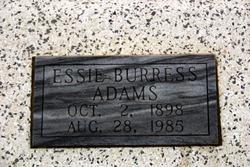 Essie <i>Burress</i> Adams