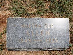 Martha Sue <i>Robinson</i> Allen