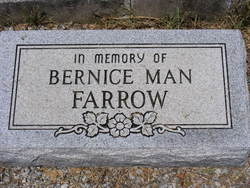 Bernice <i>Man</i> Farrow