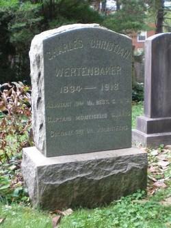 Col Charles Christian Wertenbaker