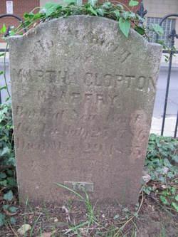 Martha <i>Clopton</i> McAffrey