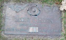 Harriett <i>Washburn</i> Emerson