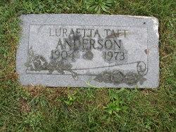Luraetta <i>Taft</i> Anderson