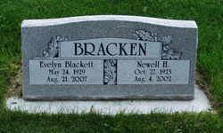 Evelyn Jane <i>Blackett</i> Bracken