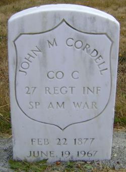 John M. Cordell