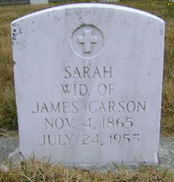 Sarah A. <i>Yake</i> Carson