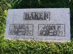 Maria <i>Parker</i> Baker