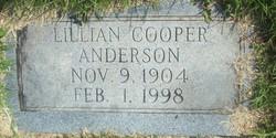 Lillian <i>Cooper</i> Anderson