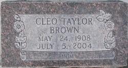 Cleo Josephine <i>Taylor</i> Brown