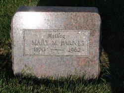 Mary Martha Mattie <i>Poston</i> Barnes