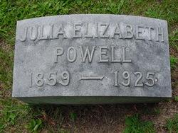 Julia Elizabeth Powell