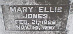 Mary <i>Ellis</i> Jones