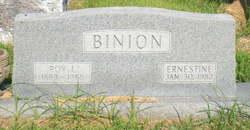 Ernestine <i>Jones</i> Binion