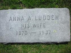 Anna A. <i>Ludden</i> Ellsworth