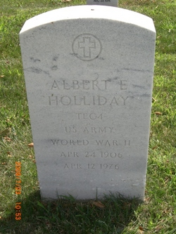 Albert E Holliday