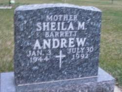 Shelia M. <i>Barrett</i> Andrew