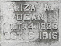 Eliza Ann <i>Martin</i> Dean