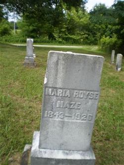 Maria <i>Royse</i> Maze