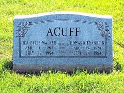 Ida Belle <i>Millington</i> Acuff