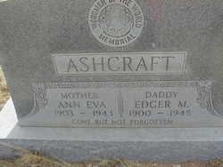 Edger M Ashcraft
