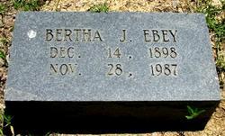 Bertha Jewel Ebey