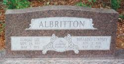 Rosalind <i>Lindsey</i> Albritton