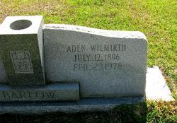 Aden Wilmirth Barlow, Sr