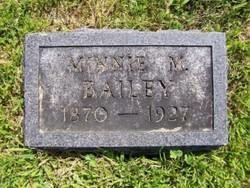 Minnie M. <i>Hare</i> Bailey