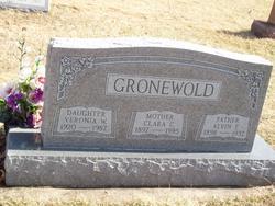 Clara Caroline Wilhelmina <i>Grafelman</i> Gronewold