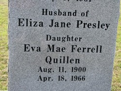 Eva Mae <i>Ferrell</i> Quillen