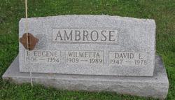B Eugene Ambrose
