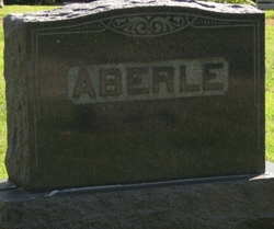Flora Maude <i>Robertson</i> Aberle