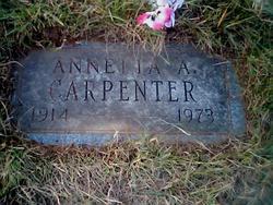 Annetta A. <i>Cawby</i> Carpenter
