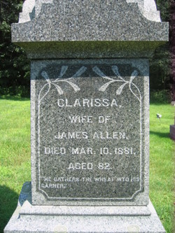 Clarissa <i>Way</i> Allen