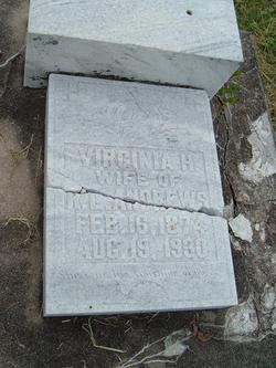 Virginia <i>Hall</i> Andrews