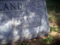 Sarah D. <i>Saltzgaber</i> Haviland