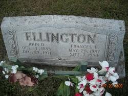 Frances <i>Estell</i> Ellington