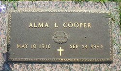 Alma <i>Langston</i> Cooper